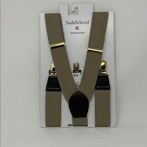 Saddlebred Suspenders Khaki NWT